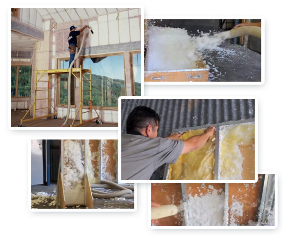 Blow-in insulation, bibs insulation, insulation, batts insulation